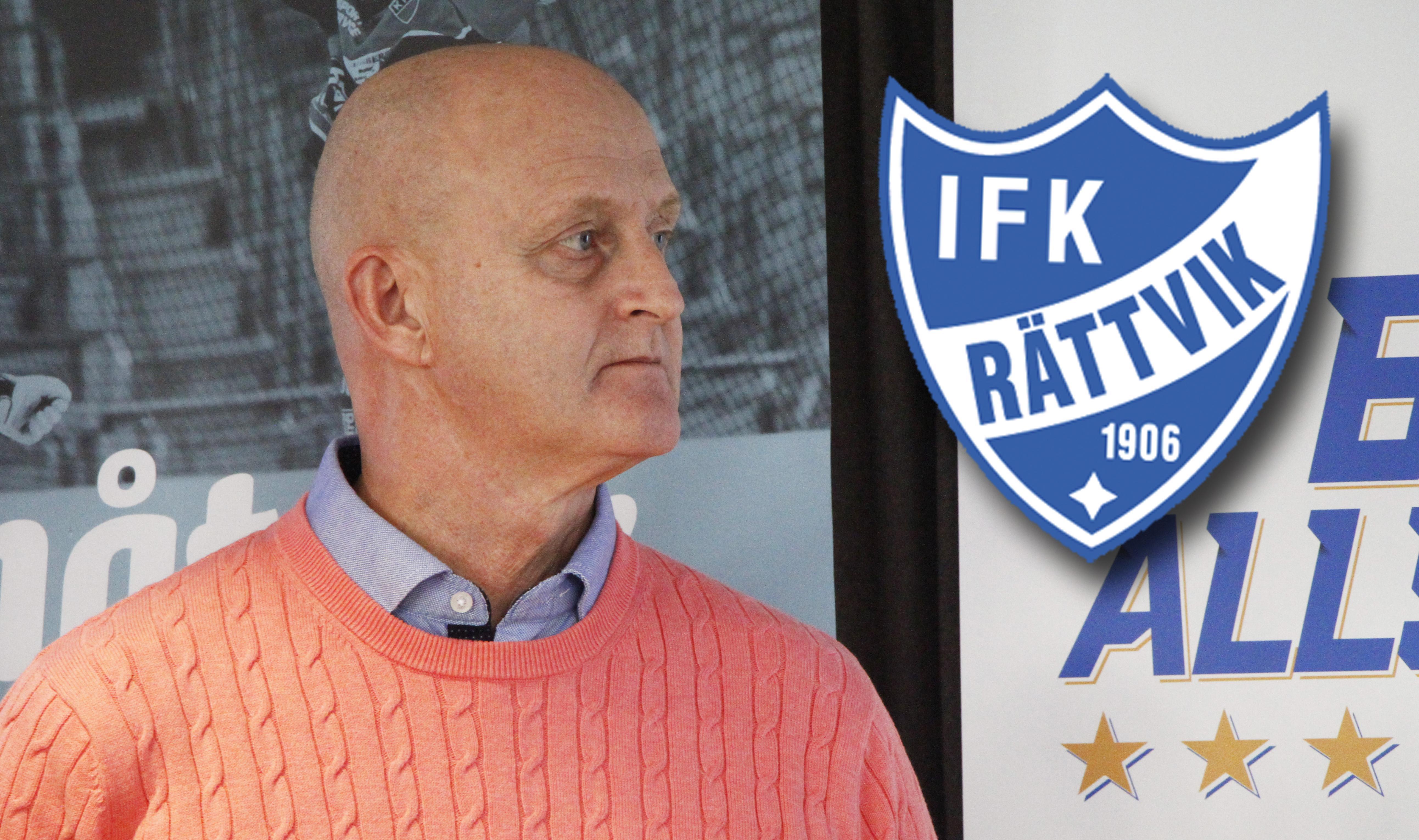 Rättviks tränare, Michael Bratt.