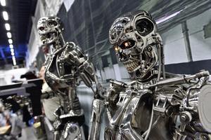 Robotar från filmen Terminator.