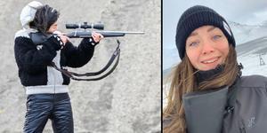 Lisa-Marie Bolin från Tåsjö fick vara med om ett storartat äventyr när ett kinesiskt produktionsbolag bestämde sig för att dokumentera hennes kompisgängs liv på Svalbard.