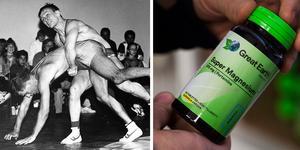 Anders Lindqvist var själv aktiv som brottare på 90-talet och drev samtidigt kosttillskotts-företaget Great Earth. Senare blev han tränare för Fritz Aanes som tävlade för Gävleklubben BK Loke. Foto: Lars Wigert/Erik Wikström