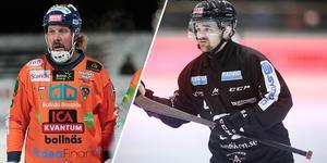 Daniel Mossberg och Jesper Hvornum möts på fredagen i en match som livesänds hos Bandypuls.