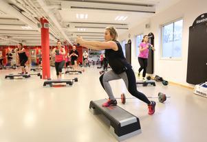 Jennie Janeröd Nilsson från Falun tränar 2 - 3 lunchpass i vecka: