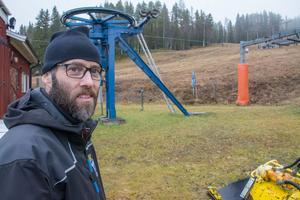 Mattias Brännström var liftskötare i Lit redan i början av 1990-talet.
