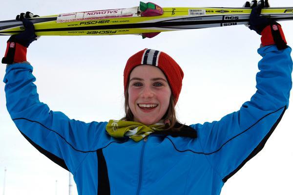 En 11-årig Ebba Andersson – en vinnare redan då.
