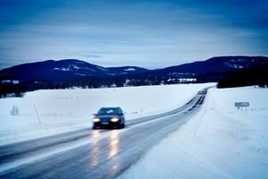 Väg 335 genom Sollefteå kommun prioriteras inte av Trafikverket. Arkivbild: Kristoffer Hellman