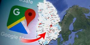 Foto: TT/Google maps