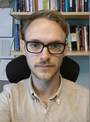 Sam de Boise är docent i musikvetenskap vid Örebro universitet. Foto: Privat