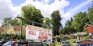 På Nyble i Ösmo brukar dansbanan vara full när midsommarafton firas. Foto: Helene Skoglund/arkiv