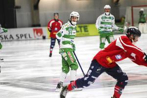 Martin Landström gjorde sina två första seriemål för VSK mot Kalix.