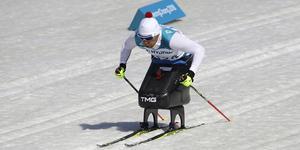 Tyska Andrea Eskau i Paralympics i Sydkorea 2018.