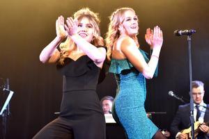 Olivia Larsson Kind (dans) och Wilma Björkman (sång och dans) framförde Dear future husband av Meghan Trainor. De fick därmed också andrapriset i årets Talangjakt.