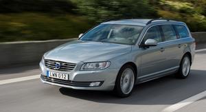Var femte bil som byter ägare är en Volvo. Volvo V70  säljer allra mest i hela Sverige och grå är den mest populära färgen. Foto: Volvo/Pressbild