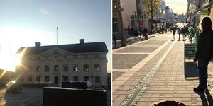 En småstad precis som Härnösand kan innehålla mer värden sett till folklivet på gator och torg än en storstad.