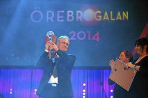 Team Stadsparken och Lars-Erik Krafve, Årets örebroare 2013.