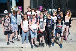 Femteklassare från hela Östersunds kommun har under våren jobbat med projektet