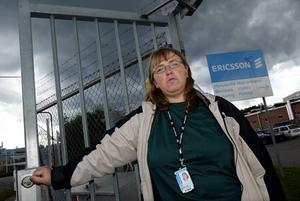 Ann Hillin, klubbordförande på IFMetall på Ericsson, var kallad som vittne i gårdagens tvist i Arbetsdomstolen.