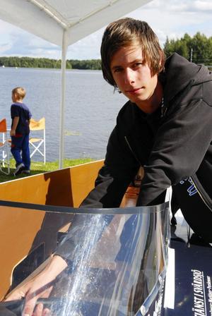 Skräll. Robert Engberg är mer än nöjd som bästa svensk och med sin fjärdeplats i EM.