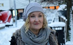 Inger Glimmero Nordangård tycker inte att Borlänge är så fult.