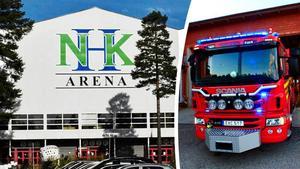 Bland annat räddningstjänsten ska finnas på plats i NHK Arena i helgen. Arkivbilder.