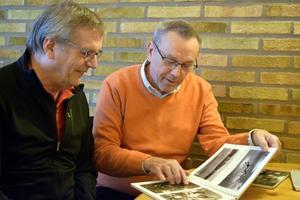 Anders Wikström och Per Berglund har lärt sig en hel del under arbetet med boken.