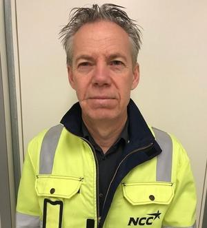 Jan Domander är projektchef på NCC. Bild: Privat