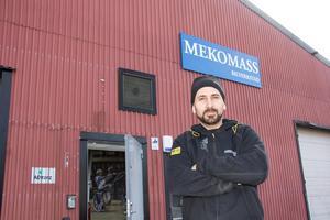 Ett nytt firmanamn har etablerat sig på Fabriksgatan i Krylbo.