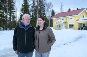 Pappa Christer är stolt över sin dotter och över deras gemensamma projekt.