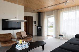 Den arkitektritade villan är på 143 kvadratmeter.  Foto: Notar.