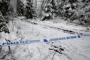 Den 50-årige företagaren från Hallstahammar hittades död i en utbränd bil Hedlandets naturreservat, i Södermanland, den 17 december.  Foto: Anders Nilsson/Eskilstuna-Kuriren