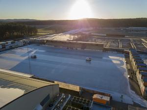 Isen på Sävstaås ligger spelklar. Bilden är från i fjol. Bild: Robert Jonsson