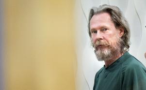 Ulf Borgström fotograferad 29 maj 2018 under rättegången i Västmanlands tingsrätt.