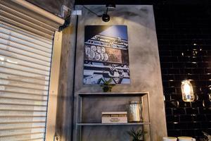 Till vänster skymtar ingången från Stora torget. Tugg Burgers kommer även att ha en ingång från Sigmatorget.