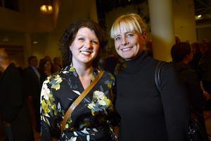 Ylva Timan Olofsson och Anna Karin Edeborg från Hudiksvall har Lisa Nilsson som stor favorit sedan 1992.