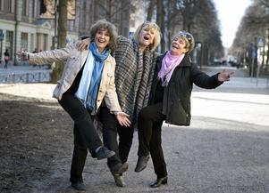 Siw Malmkvist, Towa Carson och Ann-Louise Hanson. Arkivbild.Foto: Ulf Höjer/Aftonbladet/IBL/TT