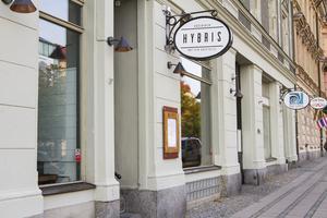 Restaurangen Hybris ansökte om konkurs efter ett kostsamt uppehåll.