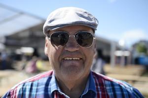 Hans Hjerpe, 67, pensionär, Stockvik: – Allting och lite till.
