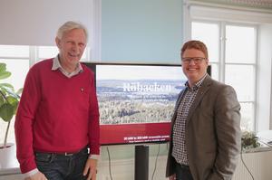 I oktober 2018 presenterade näringslivschefen Lennart Silfverin tillsammans med kommunalrådet Fredrik Rönning (S) stolt den färdiga detaljplanen för Röbackens industriområde.