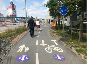 Uppsala är ett föredöme, anser signaturen Cyklisten. Foto: Privat