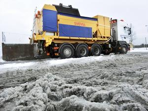 Trafikverket kommer att salta ytterligare en sträcka på E 14 i vinter. Sträckan mellan Järpen och Sta.