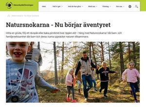 Från Naturskyddsföreningens hemsida