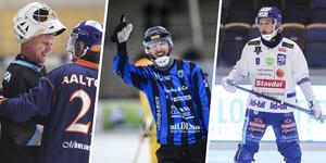 Pertti Virtanen, Simon Karlsson och Ludvig Johansson tar plats i Veckans lag.