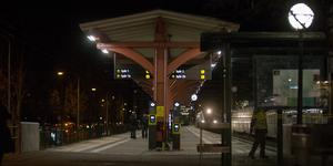 Pendeltågsstationen centrum är den mest utsatta hållplatsen i Södertälje.