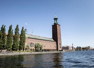 Stockholms Stadshus.  Foto: Christine Olsson / TT /