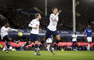 Tottenham, här Christian Eriksen och Dele Alli, är en av veckans två bästa spikar. Foto: Nick Potts/PA/AP/TT