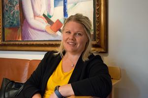 Anna Lögdqvist, avdelningschef för Dalarnas museums publika del.