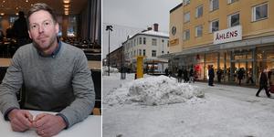 Kommunens näringslivschef Erik Odens .