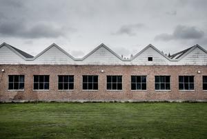 Från spikfabrik till logistikcenter. Joakim Gabenius och Erik Bock har förvandlat fabriken.