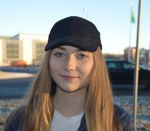 Tea Hedlund, 16 år, studerande, Timrå: