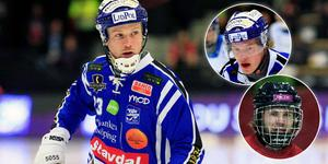 Johan Löfstedt. Infällda: Felix Pherson och Joakim Svensk. Bild: Jonna Igeland / Leo Hägglund