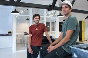 Industridesignern Jacob von Matern har slagit ihop sig med Petter Zachrisson, som har sin bakbrund inom webbhandeln för friluftsprodukter.